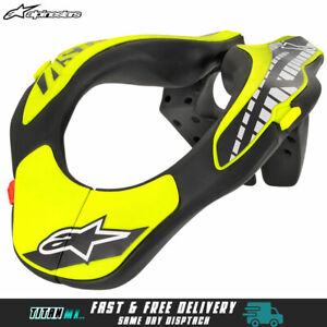 NEW 2021 Alpinestars Kids Youth Neck Support Brace Motocross MX BMX MTB Enduro