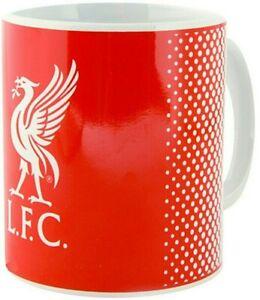 LIVERPOOL FC FOOTBALL 11OZ CERAMIC TEA COFFEE CREST MUG CLUB CUP LFC GIFT