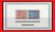 Zayix - 1972 Norway 585a Mnh souvenir sheet - Century of the Post Horn Stamps