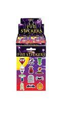 Halloween 48 Fun Stickers(4 sheets)CHILDREN ARTS CRAFTS STICKER BOOK Trick Treat