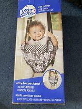 Baby Evenflo Exersaucer Door Jumper Bouncy Seat Star Power Black New Open Box