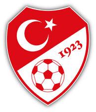 Turkey National Team Soccer Football Car Bumper Sticker Decal 4 X 5