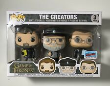 Funko Pop Games Of Throne 3-Pack The Creators NYCC 2018 Official Sticker