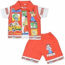 Baby Boys Clothing Sets Cotton T-shirt + Casual Shorts Suit