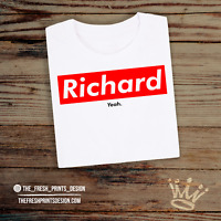Richard Yeah! T Shirt The Inbetweeners Suprem Hipster Unisex Gift Festival Funny