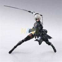 "Anime NieR:Automata 2B YoRHa No. 2 Neal 6"" PVC Action Figure Statue Toy Gift"