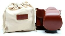 Excellent T.P. Original Nikon DF Full Brown Leather Case With Pouch #31558
