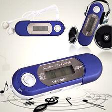 Reproductor Digital MP3 con Puerto USB TF Micro SD Radio FM y Auriculares 4400