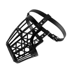 Adjustable Basket Mouth Muzzle Cover for Dog Training Bark Bite Chew Control K