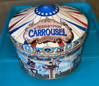 HERSHEY PARK CARROUSEL TIN BOX HOMETOWN SERIES CANISTER #13 USA 1996 Candy