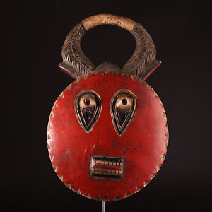 11584 Goli Mask of The Baule Elfenbeinkuste