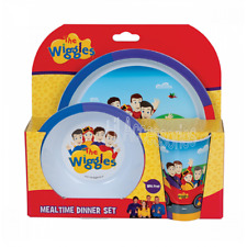 The Wiggles 3 Piece Licensed Dinner Set - BPA FREE