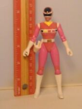 1997 Power Rangers In Space Series Pink Ranger Action Figure Female Girl Rare !!