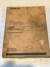 Caterpillar 140g Motor Grader Parts Manual