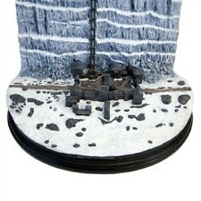 Game Of Thrones Castle Black And The Wall Desktop Sculpture Diorama New