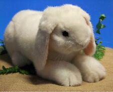 Kösener 6151 - Nain bélier blanc Lapin lapin 18 cm animal en peluche