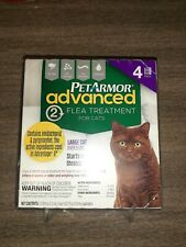Pet Armor Advanced Flea Treatment for Cats Over 9 LBS 4CT New Free Shipping