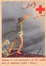 """0239) CROCE ROSSA, COMITATO REGGIO CALABRIA, """"AIUTIAMO LE NUOVE GENERAZIONI..."""""""