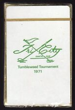 1971 Tri-City Country Club TUMBLEWEED WOMEN'S GOLF TOURNAMENT Sealed Card Deck