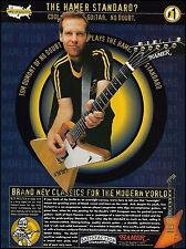 No Doubt Tom Dumont 1997 Hamer Standard guitar ad 8 x 11 advertisement print