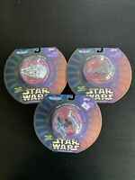 Star Wars Micro Machines Galoob -Tie Fighter,Star destroyer & Millennium Falcon