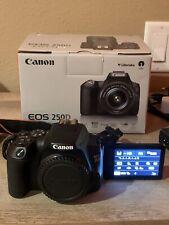 Canon EOS Rebel SL3/250d 24.1MP Digital Camera - Black (Body Only)