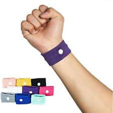 2X Travel Sickness Wristband Anti Nausea Band Motion Sea Car For Adult Children
