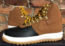 NIKE LUNAR FORCE 1 DUCKBOOT '18 UK7 US8 EUR41 BLACK TAN PHANTOM BQ7930 001