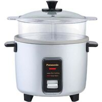 Panasonic SR-W10FGEL Automatic Rice Cooker and Vegetable Steamer - 110 Volts
