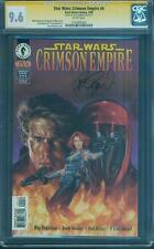 Star Wars Crimson Empire 4 CGC SS 9.6 Dorman Mara Jade Force Awakens Key 1998