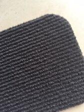 Auslegware Rips Nadelfilz Bodenbelag Teppichboden  anthrazit 200 cm x 6,5 Meter