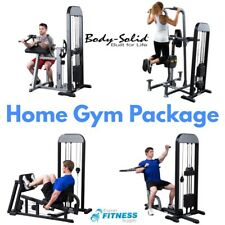 7 Piece Home Gym Circuit - Body-Solid Pro-Select 310lb Fitness Equipment