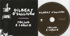 GILBERT O'SULLIVAN TAKING A CHANCE RARE 1 TRACK PROMO CD
