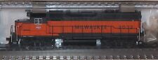 Atlas HO Scale Milwaukee Road GP40 + Atlas TrainMan 2 Bay Hopper Cars 3 Pack (#2