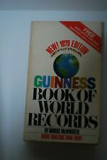 new! 1979  Guinness Book of World Records Edition Paperback