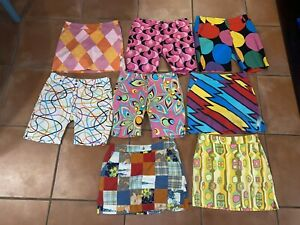 Lot of 8- Loudmouth Golf Women's Skorts / Shorts Size 4