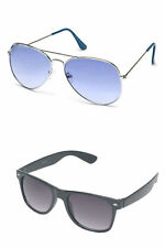 Combo (Goggles) Aviator & Premium sunglasses (Case & Wiping Cloth)
