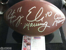 peyton archie manning autographed football  860cf3445