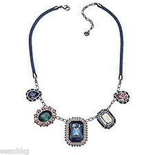 Swarovski Spectacle Necklace Pendant Vintage Crystal MIB - 1160557