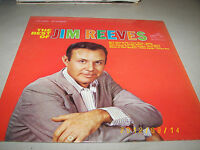 THE BEST OF JIM REEVES LP VG+ RCA Victor LSP2890 1964