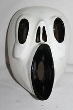 418 SCREAM MEXICAN WOODEN MASK WALL DECOR handmade and painted artesania Mexico