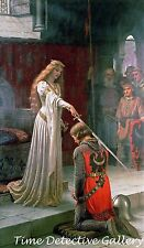 """Accolade"" by Edmund Blair Leighton - Poster in 5 Sizes"