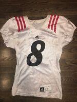 Game Worn Used Adidas Cincinnati Bearcats Football Jersey #8 Size M