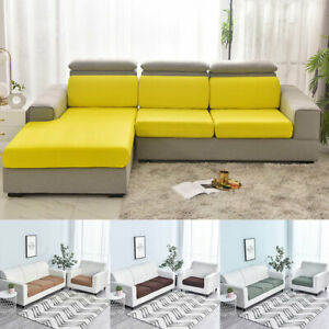 1/2/3/4 Seater Stretch Sofa Seat Cover Slipcovers Home Sofa Replacement Decor