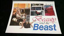 """Vintage Collectable Semi Calendar"" +(Truck, Rig, 18 wheeler, 80s, Girls, Color)"