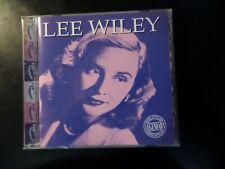 CD ALBUM - LEE WILEY - LEGENDARY SONG STYLIST