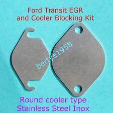EGR Valve & Round Cooler End Type, Blanking Kit MK7 TRANSIT 2.2 2.4 3.2 TDCi