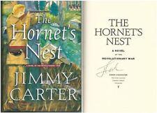 Hornet's Nest Novel of Revolutionary War by President Jimmy Carter Signed