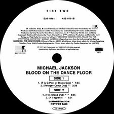 "Michael Jackson : Blood On The Dance Floor (The Dubs) 12"" single"