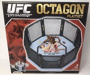 UFC Collection Series 1 OCTAGON RING PLAYSET 2012 Jakks Pacific MMA New SEALED!
